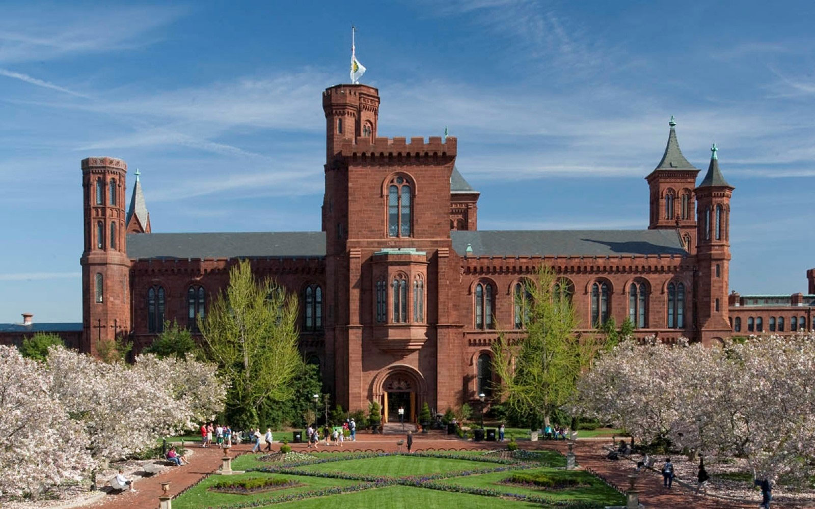 The Smithsonian Institution  banner