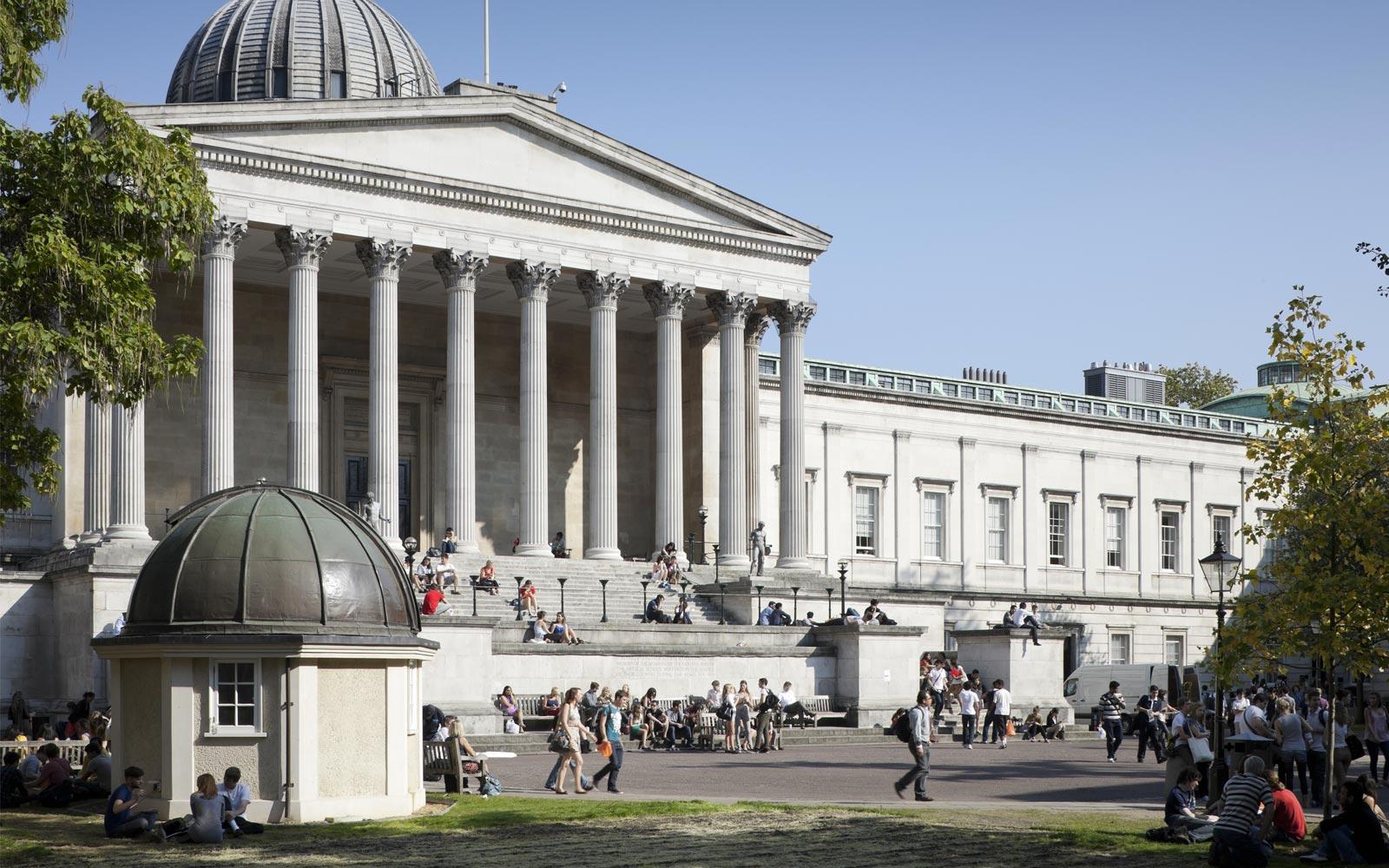 University College London  banner