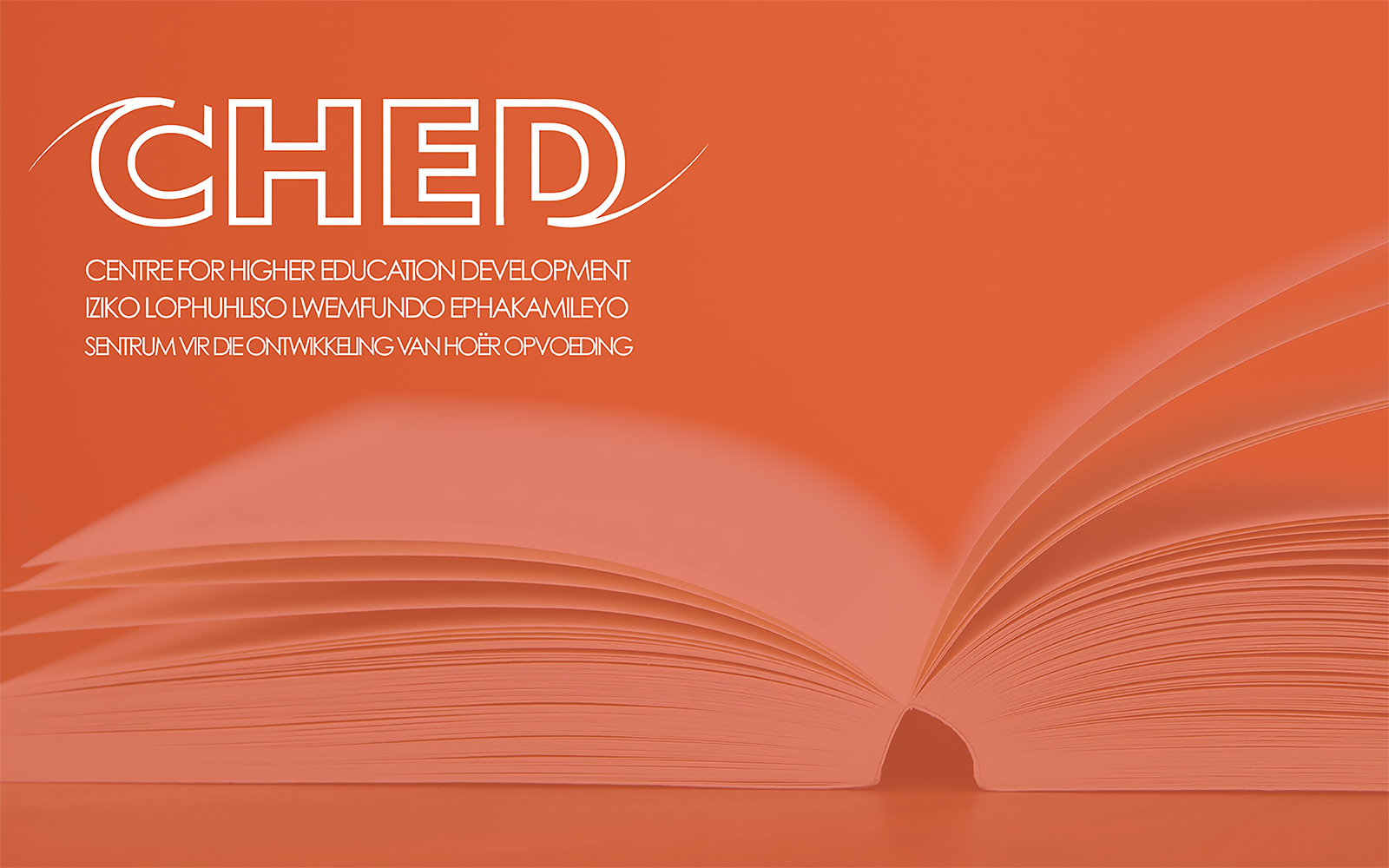 Centre for Higher Education Development (CHED)  banner
