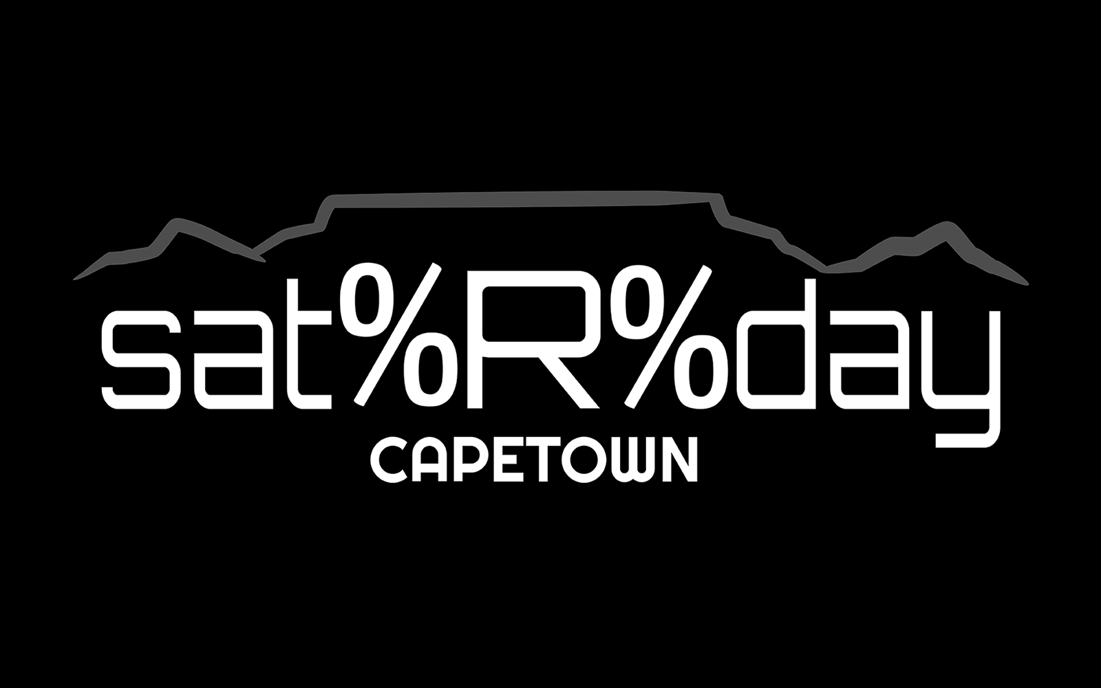 SatRday Cape Town 2018  banner