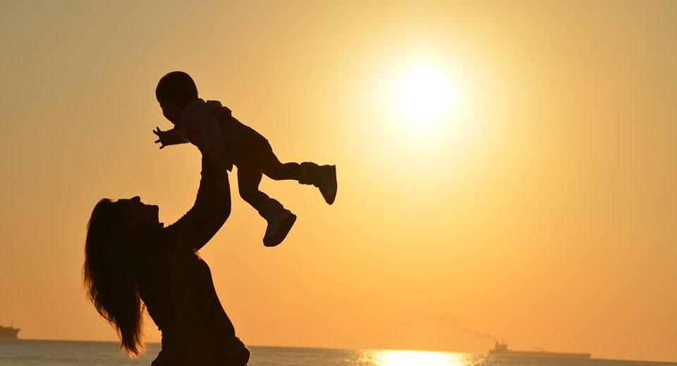 Una mare i el seu fill