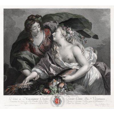 Pacea care aduce abundenţa (după o pictură de Élisabeth Louise Vigée Le Brun)
