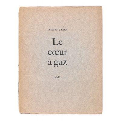 """""""Le coeur a gaz"""", de Tristan Tzara, franceză, Paris, 1946"""