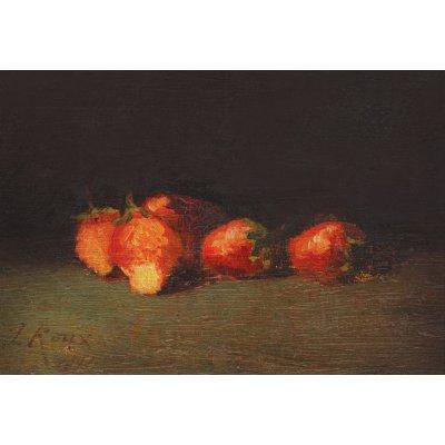 Natură statică cu căpșuni
