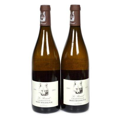 Lot de vinuri albe, Le Renard, Domaines Devillard, Burgundy, 2015, 2st x 0,75l