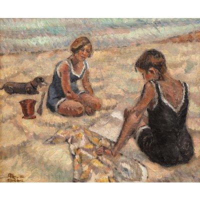 Femei la malul mării