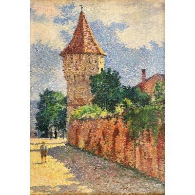 După-amiază de vară în Sibiu (Turnul Dulgherilor)