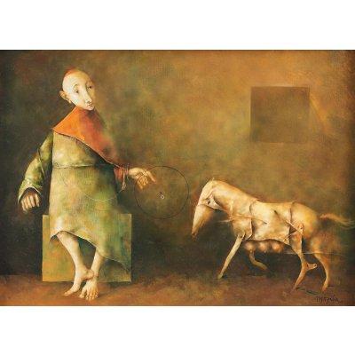 Le moine et le poney