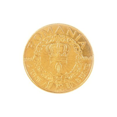 Moneda 20 lei 1940, aur