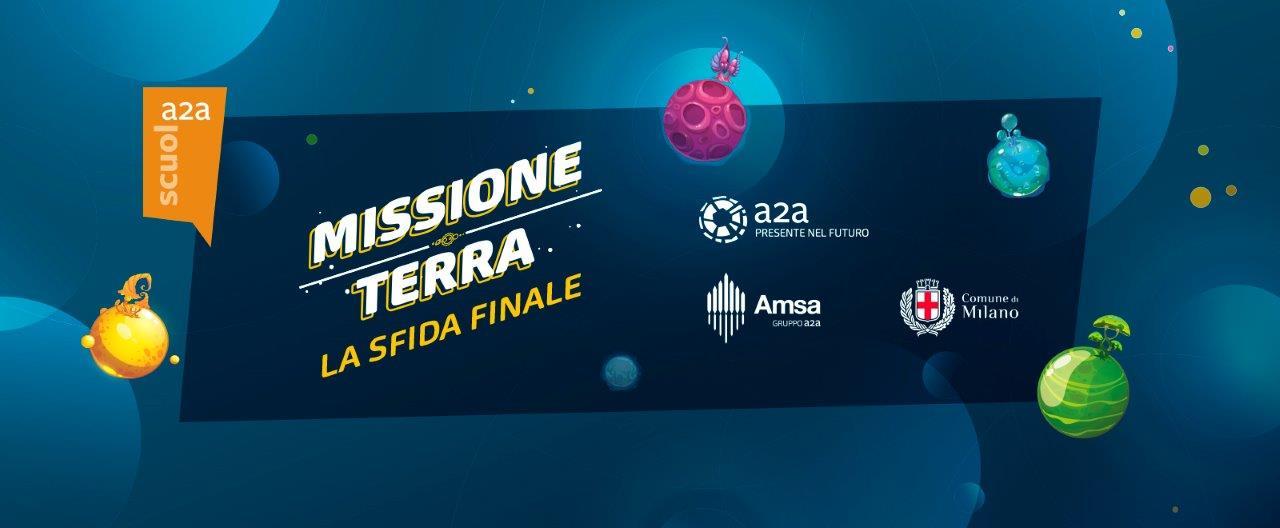 """19 aprile: le scuole di Milano con AMSA all'arena per """"Salvare la terra"""""""