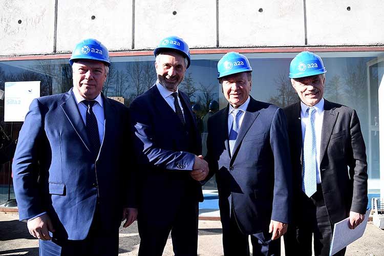 Vasily Golubev Governatore Rostov - Valerio Camerano Ad Gruppo A2A - Viktor Zubkov Presidente del Board of Directors di Gazprom - Evgeny Savchenko Governatore Belgorod