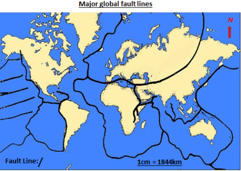 Global patterns of earthquakes global earthquake activity map throughout ethiopia sudan kenya and south sudan for example which corresponds with the fault line of the central gumiabroncs Choice Image