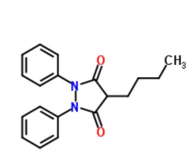 ChemSpider 2D Image | Phenylbutazone | C19H20N2O2