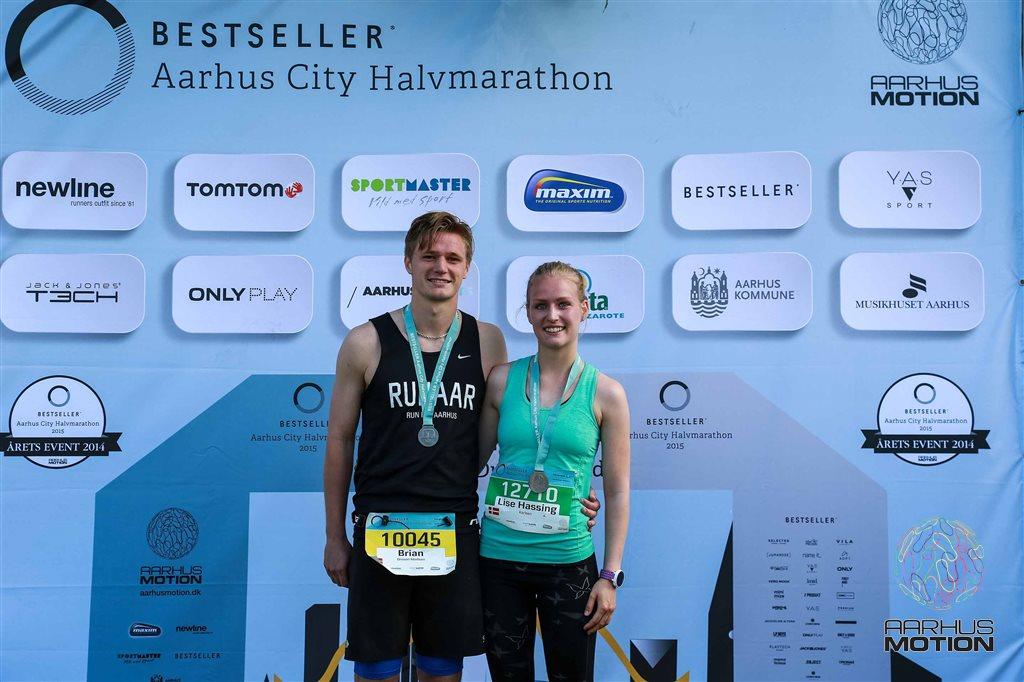 Aarhus Motion Bestseller Aarhus City Halvmarathon 2015