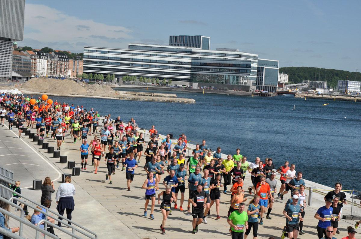 århus city halvmarathon