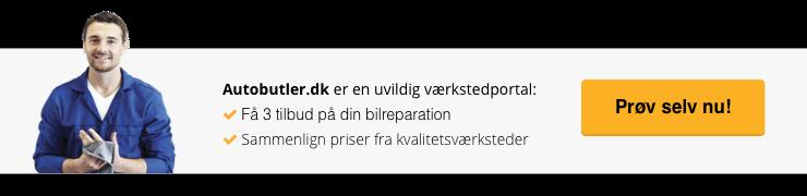 Autobutler.dk værkstedsportal - 3 tilbud på din bilreparation