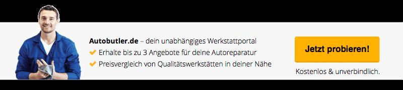 Autobutler.de Werkstattportal - erhalte 3 Angebote für deine Kfz-Reparatur