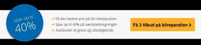 Autobutler.dk værkstedportal - spar op til 40% på værkstedsregningen