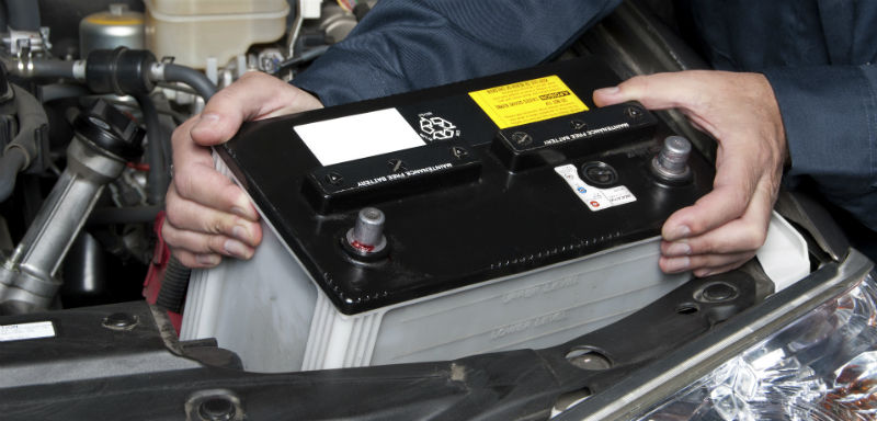 Nyt batteri