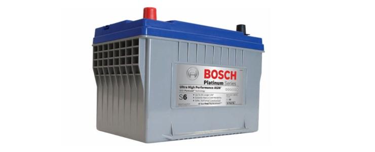 Information om Bosch bilbatterier