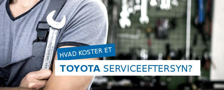 Pris på et Toyota serviceeftersyn