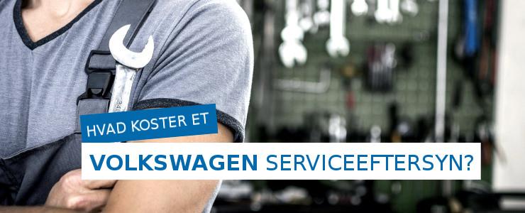 Pris på Volkswagen serviceeftersyn