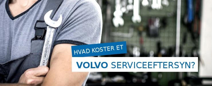 Pris på Volvo serviceeftersyn