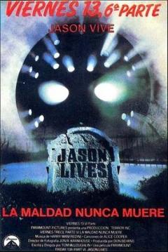 Poster Viernes 13 Parte 6: Jason Vive
