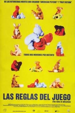 Poster Las Reglas del Juego