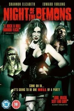 Poster La Noche de los Demonios (Remake)
