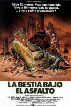 pel237cula la bestia bajo el asfalto 1980 alligator