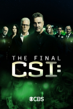 Poster CSI: Caso Cerrado
