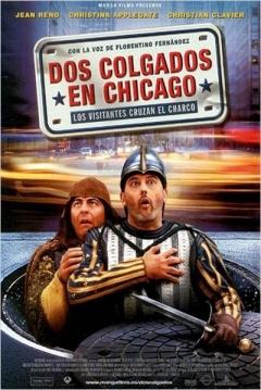 Poster Dos Colgados en Chicago: Los Visitantes Cruzan el Charco