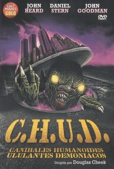 Poster C.H.U.D. (Caníbales Humanoides Ululantes Demoníacos)