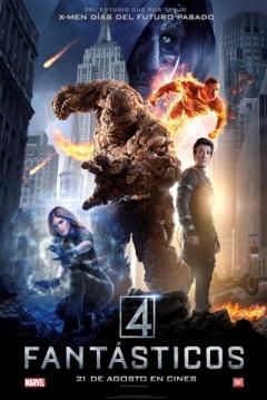 Poster Los 4 Fantásticos (Reboot)