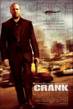 Poster Crank: Veneno en la Sangre