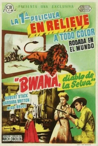 Poster Bwana, Diablo de la Selva