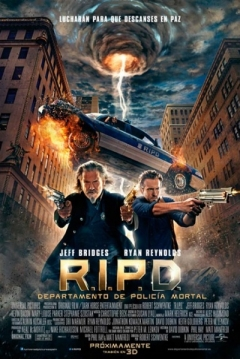 Poster R.I.P.D. Departamento de Policía Mortal