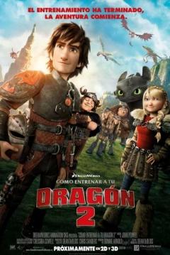 Poster Cómo Entrenar a tu Dragón 2