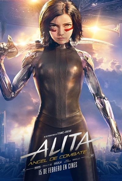Poster Alita: Ángel de Combate
