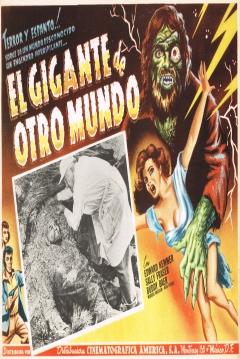 Poster El Gigante de la Isla Misteriosa