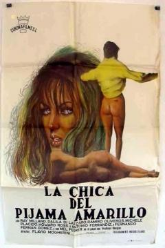 Poster La Chica del Pijama Amarillo