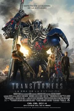 Ficha Transformers 4: La Era de la Extinción