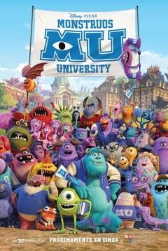 Poster Monstruos University