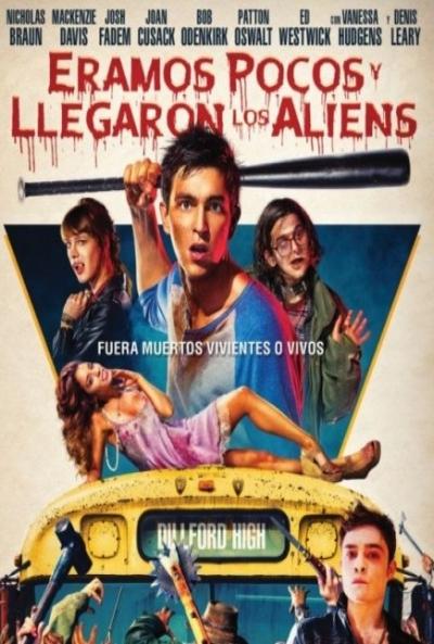 Poster Éramos Pocos y Llegaron los Aliens