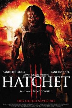Poster Hatchet 3