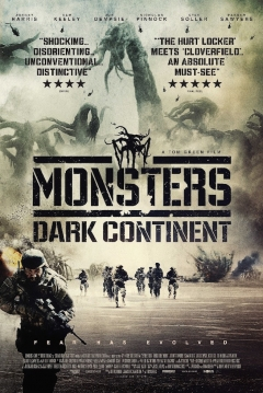Poster Monsters 2: El Continente Oscuro
