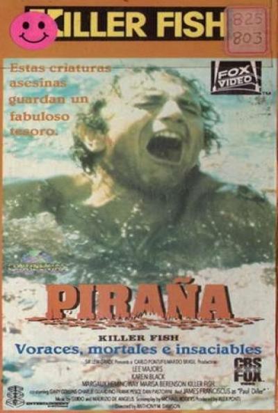 Poster Piraña (Voracidad)