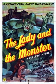 Poster La Dama y el Monstruo