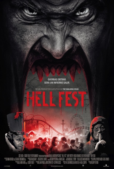 Poster Hell Fest